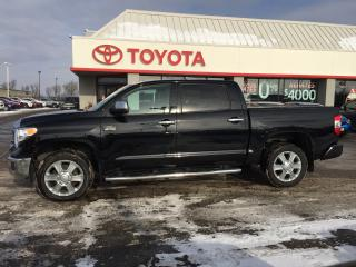 Used 2016 Toyota Tundra Platinum for sale in Cambridge, ON