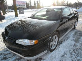 Used 2005 Chevrolet Monte Carlo Supercharged SS***Super clean NO ACCIDENTS*** for sale in Ajax, ON
