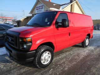 Used 2009 Ford E-250 CARGO 4.6L V8 A/C,Tilt, Certified ONLY 123,000KMs for sale in Etobicoke, ON