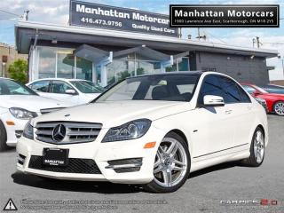 Used 2012 Mercedes-Benz C350 4MATIC AMG PKG |NAV|BLINDSPOT|CAMERA|PANO for sale in Scarborough, ON