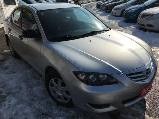 Used 2005 Mazda MAZDA3 GX / Auto / 4-Cylinder / Low KMS /Steering Control for sale in Scarborough, ON