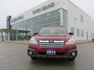Used 2014 Subaru Outback 2.5I LIMITED for sale in Owen Sound, ON
