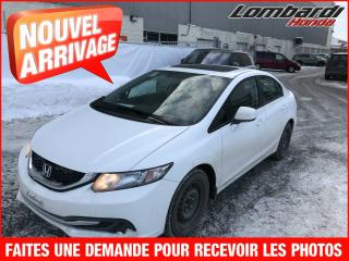 Used 2014 Honda Civic **TOIT**MAGS**AUTO** for sale in Saint-leonard, QC