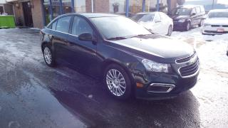 Used 2015 Chevrolet Cruze Eco/AUTO/BACKUP CAMERA/BLUETOOTH/$11999 for sale in Brampton, ON