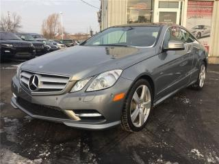 Used 2012 Mercedes-Benz E350 E 350 4 Matic PREM for sale in Burlington, ON