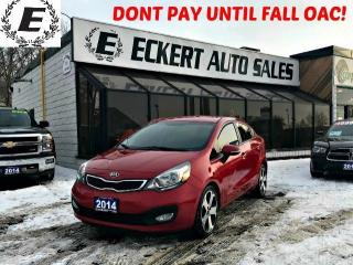 Used 2014 Kia Rio SX WITH LEATHER/BLUETOOTH/REVERSE CAMERA for sale in Barrie, ON