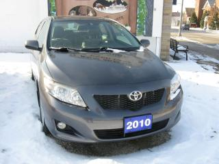 Used 2010 Toyota Corolla cloth for sale in Ailsa Craig, ON