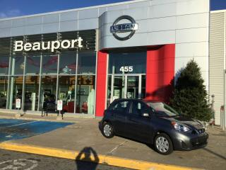 Used 2017 Nissan Micra 1.6 SV AUTOMATIQUE ***37$ / SEMAINE 0$ C for sale in Quebec, QC