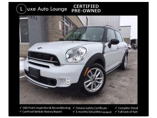 Used 2016 MINI Cooper Countryman S AWD! AUTO, SUNROOF, HEATED SEATS!! for sale in Orleans, ON