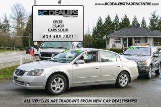 Used 2005 Nissan Altima 2.5 S Sedan, Excellent Condition, 164k, 4-Cylinder for sale in Surrey, BC