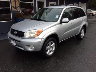Used 2004 Toyota RAV4 for sale in Parksville, BC