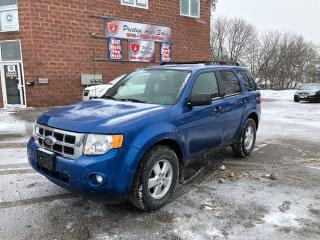 Used 2011 Ford Escape XLT/NO ACCIDENT/CERTIFIED/WARRANTY INCLUDED for sale in Cambridge, ON
