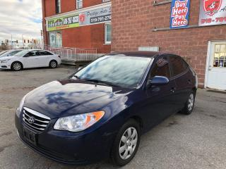 Used 2010 Hyundai Elantra NO ACCIDENT/CERTIFIED/WARRANTY INCLUDED for sale in Cambridge, ON