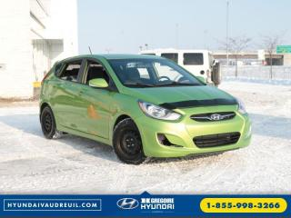 Used 2013 Hyundai Accent Gls A/c Bluetooth for sale in Saint-leonard, QC