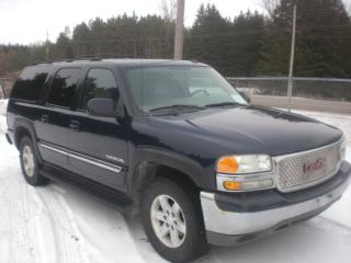 Used 2004 GMC Yukon XL 8 Passenger  DVD  4X4 for sale in Mansfield, ON