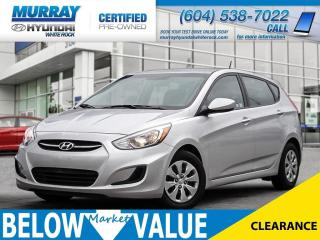 Used 2016 Hyundai Accent GL**Heated Seats**Bluetooth** for sale in Surrey, BC