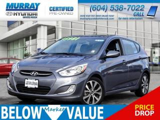 Used 2017 Hyundai Accent SE**HEATED SEATS**BLUETOOTH**SUNROOF** for sale in Surrey, BC