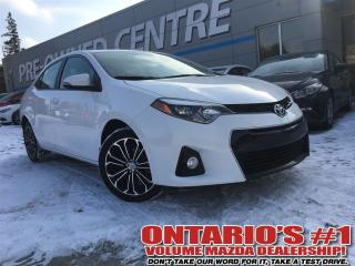 Used 2016 Toyota Corolla S Nav and Backup Camera - Toronto for sale in North York, ON