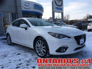 Used 2015 Mazda MAZDA3 GT -SUNROOF/NAVIGATION/REVERSE CAM-TORONTO for sale in North York, ON