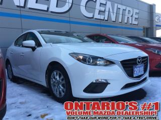 Used 2016 Mazda MAZDA3 GS /SKYACTIV/HEATED SEATS/ONE OWNER!!-TORONTO for sale in North York, ON