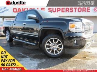 Used 2015 GMC Sierra 1500 Denali | 4X4 | LEATHER | TONNEAU COVER | SUNROOF for sale in Oakville, ON