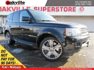 Used 2010 Land Rover Range Rover Sport Supercharged | LEATHER | SUNROOF | NAVI | B/U CAM for sale in Oakville, ON