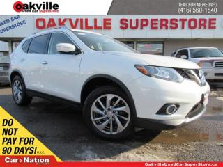 Used 2014 Nissan Rogue SL | AWD | LEATHER | PANO ROOF | BOSE | 360 CAM for sale in Oakville, ON