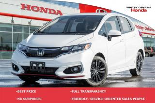 Used 2018 Honda Fit Sport | Automatic for sale in Whitby, ON