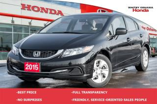 Used 2015 Honda Civic LX | Automatic for sale in Whitby, ON