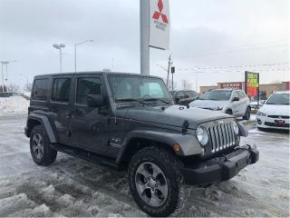 Used 2017 Jeep Wrangler Unlimited Sahara for sale in London, ON