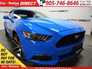 Used 2017 Ford Mustang EcoBoost Premium| CONVERTIBLE| NAVI| LEATHER| for sale in Burlington, ON