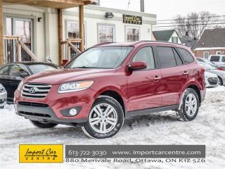 Used 2012 Hyundai Santa Fe LIMITED for sale in Ottawa, ON