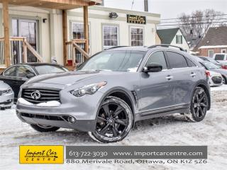 Used 2015 Infiniti QX70 Sport for sale in Ottawa, ON