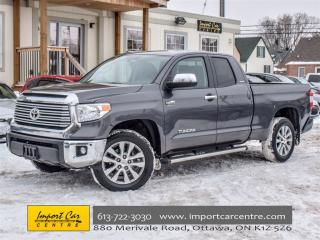 Used 2015 Toyota Tundra Limited  for sale in Ottawa, ON