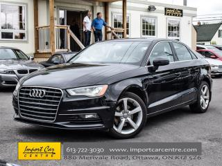Used 2015 Audi A3 TDI Komfort DIESEL LEATHER PANO ROOF for sale in Ottawa, ON