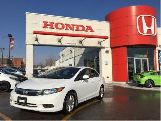 Used 2012 Honda Civic EX, one owner, low kms, power roof for sale in Scarborough, ON
