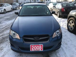 Used 2008 Subaru Legacy 2.5I for sale in Kitchener, ON