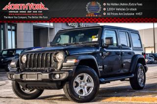 New 2018 Jeep Wrangler Unlimited New Car Sport 4x4|Conv.,Cold Wthr.,Dual Top,Tech.Pkgs for sale in Thornhill, ON