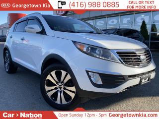 Used 2012 Kia Sportage EX | HEATED/POWER SEAT | DUAL ZONE CLIMATE | for sale in Georgetown, ON