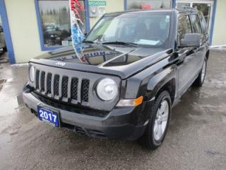Used 2017 Jeep Patriot 'LIKE NEW' SPORT EDITION 5 PASSENGER 2.4L - DOHC.. 4X4.. CD & AUX INPUT.. U-CONNECT BLUETOOTH.. for sale in Bradford, ON