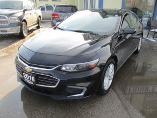 Used 2016 Chevrolet Malibu FUEL EFFICIENT LT-1 MODEL 5 PASSENGER 1.5L - DOHC.. AUX/USB INPUT.. BLUETOOTH SYSTEM.. BACK-UP CAMERA.. for sale in Bradford, ON