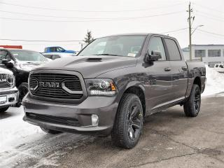 Used 2018 Dodge Ram 1500 Sport|APPLE CAREPLAY|NAVIGATION|4X4|KEYLESS ENTRY for sale in Concord, ON
