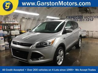 Used 2013 Ford Escape Titanium*4WD*NAVIGATION*PANORAMIC SUNROOF*MICROSOFT SYNC PHONE CONNECT*KEYLESS ENTRY w/REMOTE START*SONY AUDIO*ROOF RACK*POWER WINDOWS/LOCKS/HEATED MI for sale in Cambridge, ON