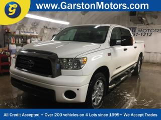 Used 2007 Toyota Tundra SR5 CrewMax*******AS IS SALE********2WDPOWER SUNROOF*TOW/HAUL MODE**KEYLESS ENTRY*CRUISE CONTROL*DUAL ZONE CLIMATE CONTROL*TRACTION CONTROL*POWER WIND for sale in Cambridge, ON