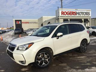 Used 2015 Subaru Forester 2.0XT - NAVI - LEATHER - PANORAMIC ROOF for sale in Oakville, ON