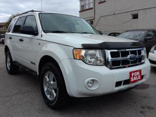 Used 2008 Ford Escape XLT/4wd/sunroof for sale in Scarborough, ON