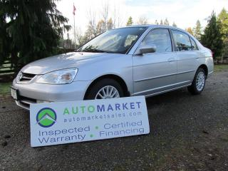 Used 2003 Acura EL AUTO, LEATHER FREE WARRANTY, INSPECTED for sale in Surrey, BC