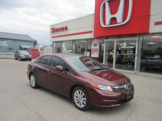 Used 2012 Honda Civic EX for sale in Simcoe, ON