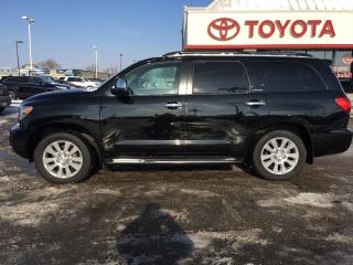 Used 2015 Toyota Sequoia Platinum for sale in Cambridge, ON