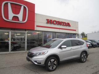 Used 2015 Honda CR-V Touring for sale in Simcoe, ON